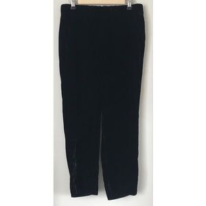 J. Crew Pants - J. Crew Velvet Easy On Cropped Pants